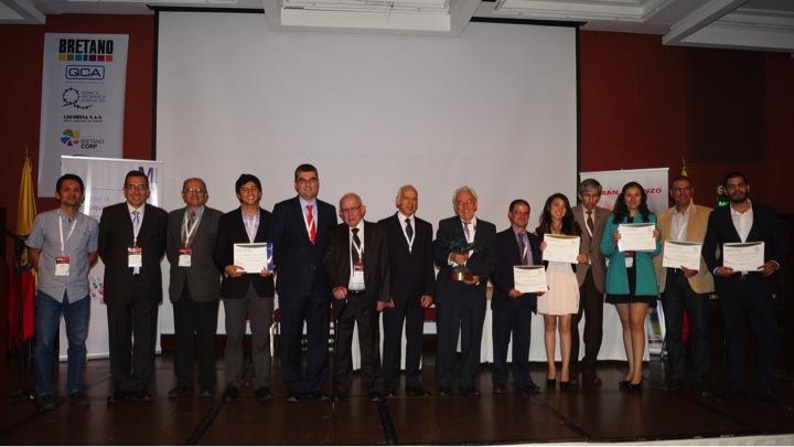 Ceremonia de Entrega de Premios CPIQ 2015